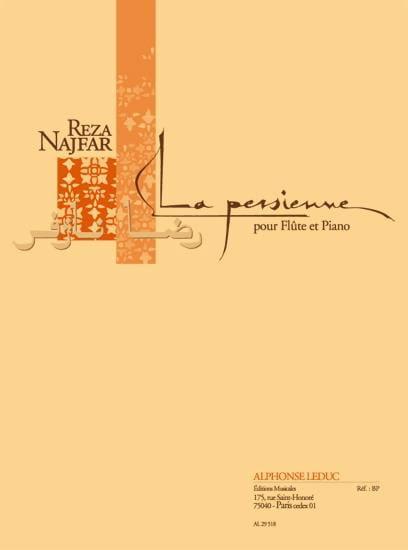 La Persienne - Reza Najfar - Partition - laflutedepan.com