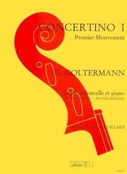 Concerto N°1 Op.14 en la Mineur 1er Mvt Georg Goltermann laflutedepan