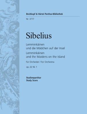 Lemminkäinen, Opus 22 N°1 - Conducteur SIBELIUS Partition laflutedepan