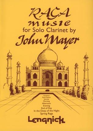 Raga Music For Solo Clarinet John Mayer Partition laflutedepan