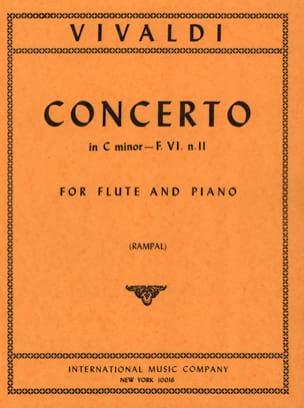 Concerto in C Minor Rv 441 - F. 6 N° 11 VIVALDI Partition laflutedepan