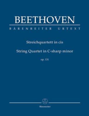 Quatuor à Cordes, opus 131 BEETHOVEN Partition laflutedepan