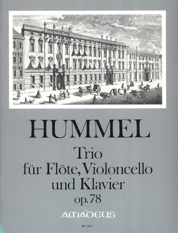 Trio Op. 78 Pour Flute, Violoncelle et Piano - laflutedepan.com