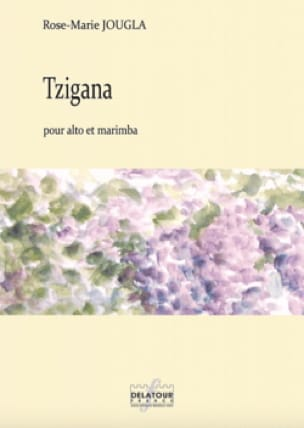 Tzigana - Rose-Marie Jougla - Partition - Alto - laflutedepan.com