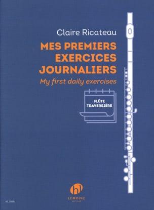 Claire Ricateau - Mes Premiers Exercices Journaliers - Partition - di-arezzo.fr