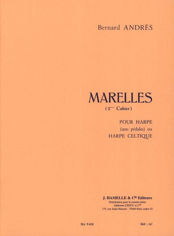 Marelles - 2ème Cahier - Bernard Andrès - Partition - laflutedepan.be