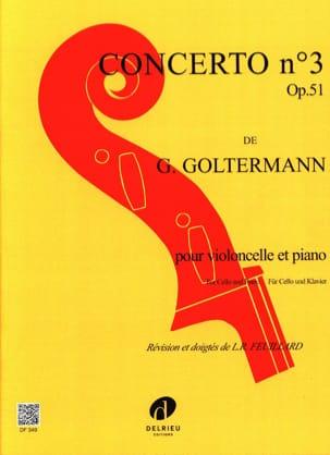Concerto N°3 Op.51 en Si Mineur 1er Mvt Georg Goltermann laflutedepan
