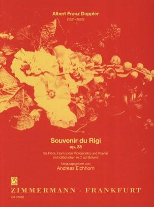 Souvenir du Rigi Op. 34 Albert Franz Doppler Partition laflutedepan