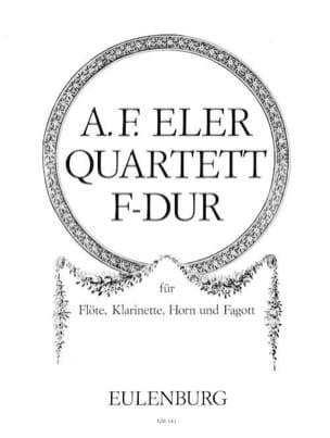 Quartett F-Dur op. 6 n° 1 -Flöte Klarinette Horn Fagott laflutedepan