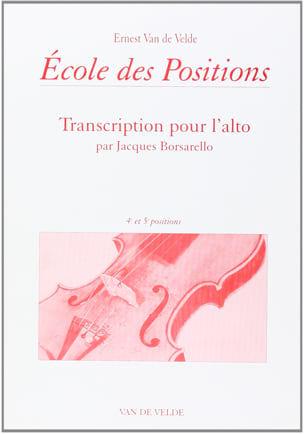 Ecole des positions - 4ème et 5ème positions - Alto laflutedepan