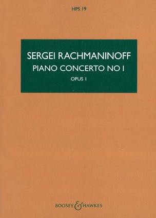 Concerto pour Piano et Orchestre n° 1 RACHMANINOV laflutedepan