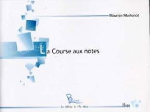La Course aux Notes - Clé de Sol - Maurice Martenot - laflutedepan.com