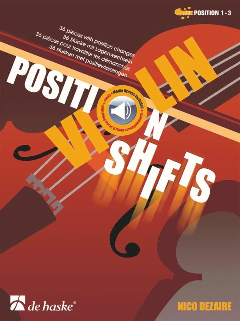 Position Shifts - Violon - Nico Dezaire - Partition - laflutedepan.com