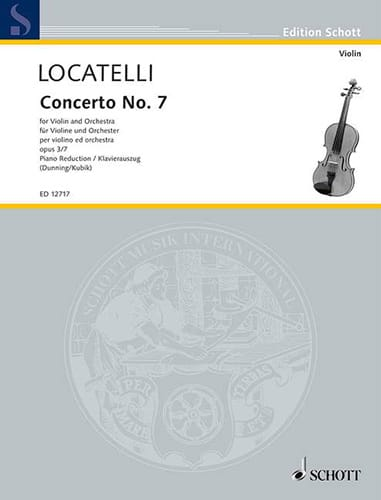 Concerto Violon op. 3 n° 7 en sib majeur - laflutedepan.com