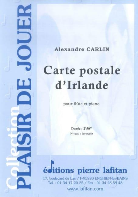 Carte postale d'Irlande - Alexandre Carlin - laflutedepan.com