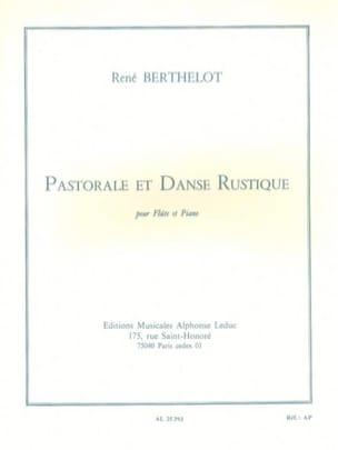 Pastorale et Danse rustique René Berthelot Partition laflutedepan