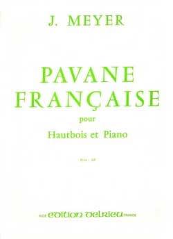 Pavane française Jean Meyer Partition Hautbois - laflutedepan