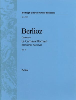 Le Carnaval romain Ouverture - Conducteur BERLIOZ laflutedepan