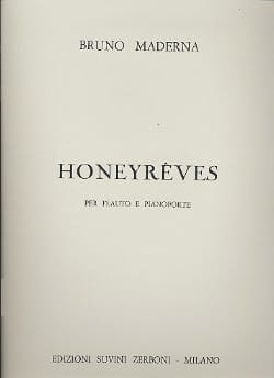 Honeyrêves - flauto pianoforte - Bruno Maderna - laflutedepan.com