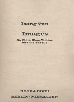 Images 1968 - Partitur Isang Yun Partition Grand format - laflutedepan