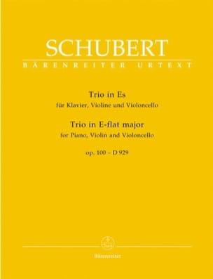 Trio en Mi Bémol Majeur op. 100 - D 929 SCHUBERT laflutedepan
