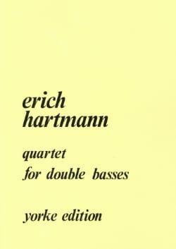 Quartet for double basses Erich Hartmann Partition laflutedepan