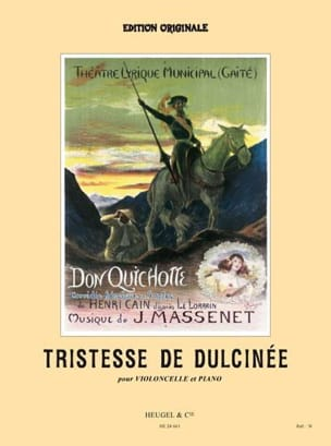 Tristesse de Dulcinée, extr. de Don Quichotte MASSENET laflutedepan