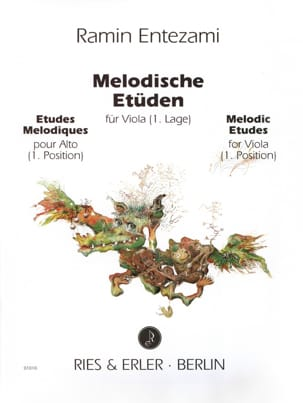 Etudes Mélodiques Volume 1 Ramin Entezami Partition laflutedepan