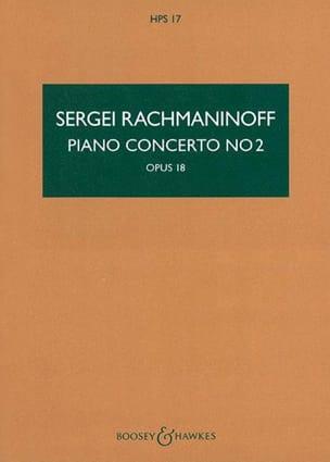 Concerto pour Piano et Orchestre n° 2 Op. 18 conducteur laflutedepan