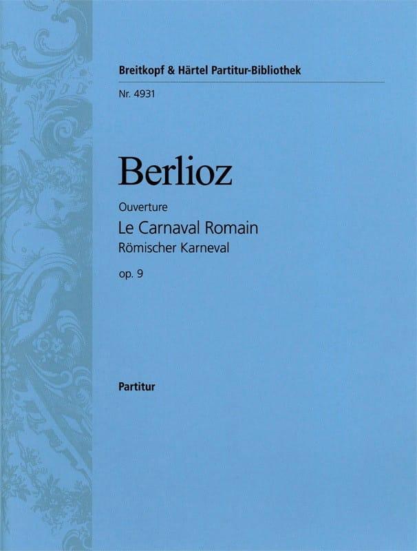 Le Carnaval romain Ouverture - Conducteur - BERLIOZ - laflutedepan.com