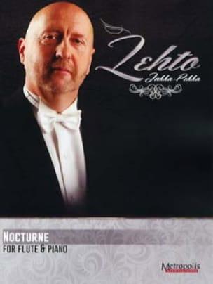Nocturne - Jukka Pekka LEHTO - Partition - laflutedepan.com