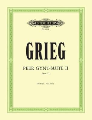 Peer Gynt-Suite n° 2 op. 55 - Partitur GRIEG Partition laflutedepan