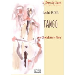 Tango André Isoir Partition Contrebasse - laflutedepan