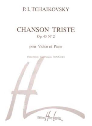 Chanson triste op. 40 n° 2 - TCHAIKOVSKY - laflutedepan.com