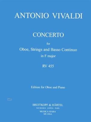 Concerto in F major RV 455 - Oboe piano - VIVALDI - laflutedepan.com