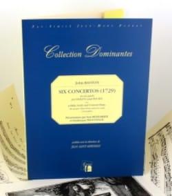 6 Concertos 1729 - John Baston - Partition - laflutedepan.com