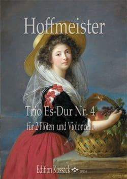 Trio Es Dur Nr.4 HOFFMEISTER Partition Trios - laflutedepan