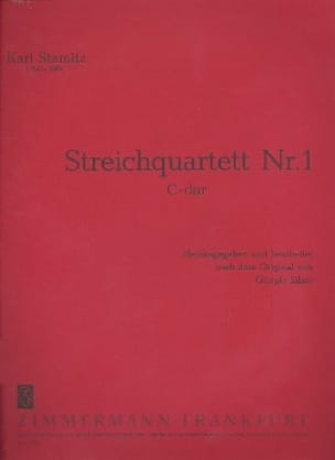 Quartett Nr. 1 C-Dur - Stimmen - STAMITZ - laflutedepan.com