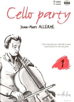 Cello Party Volume 1 Jean-Marc Allerme Partition laflutedepan