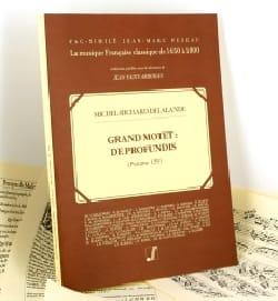 Grand Motet : De Profundis Psaume 129 - DELALANDE - laflutedepan.com