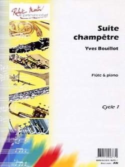 Suite Champêtre - Yves Bouillot - Partition - laflutedepan.com