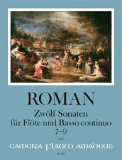 12 Sonates - Volume 3 Johan Helmich Roman Partition laflutedepan