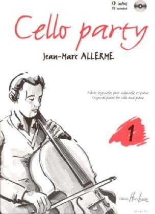 Cello Party Volume 1 - Jean-Marc Allerme - laflutedepan.com