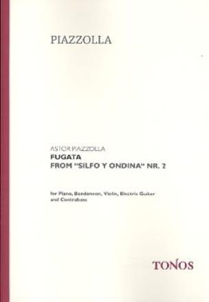 Fugata - Astor Piazzolla - Partition - laflutedepan.com