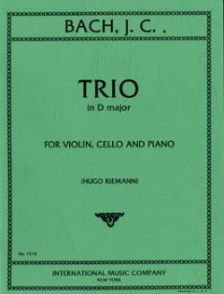 Trio D major -Parts Johann Christian Bach Partition laflutedepan