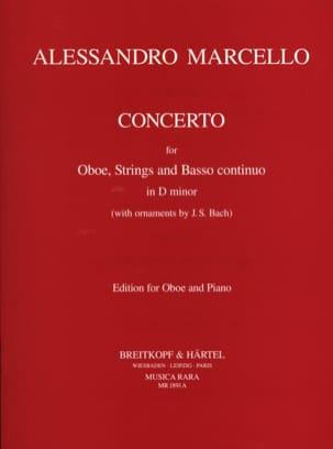Concerto en RÉ mineur Alessandro Marcello Partition laflutedepan