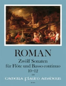 12 Sonates - Volume 4 - Johan Helmich Roman - laflutedepan.com