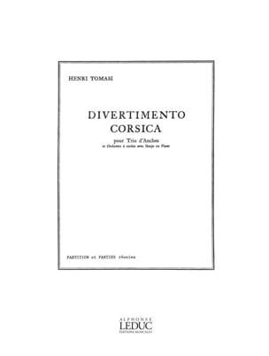 Henri Tomasi - Divertimento corsica - Parties séparées - Partition - di-arezzo.fr