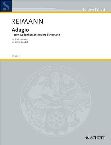 Adagio -Partitur + Stimmen - Aribert Reimann - laflutedepan.com