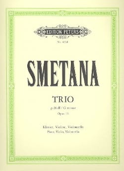Klaviertrio g-moll op. 15 - SMETANA Partition Trios - laflutedepan